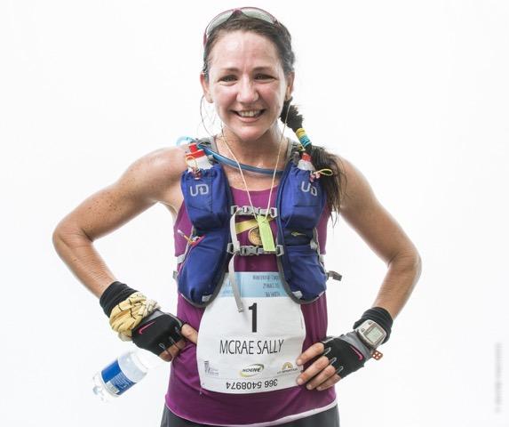 Sally McRae  del team Nike Usa per correre alle Cinque Terre