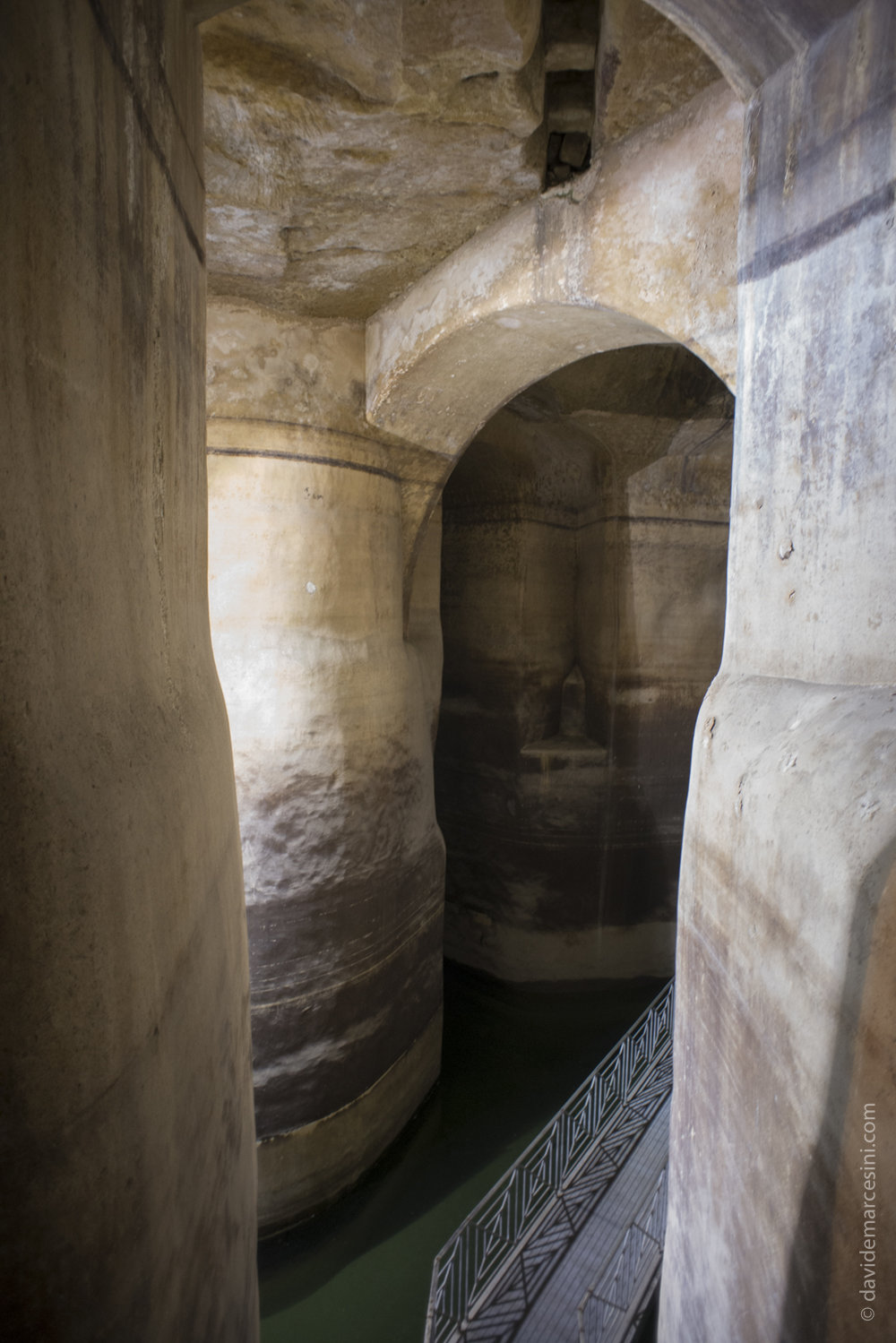"""Il """"Palombaro"""" la struttura sotterranea di raccolta dell acque recentemente riscoperta"""