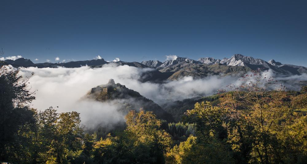 La Apuane viste dal Parco dell'Orecchiella