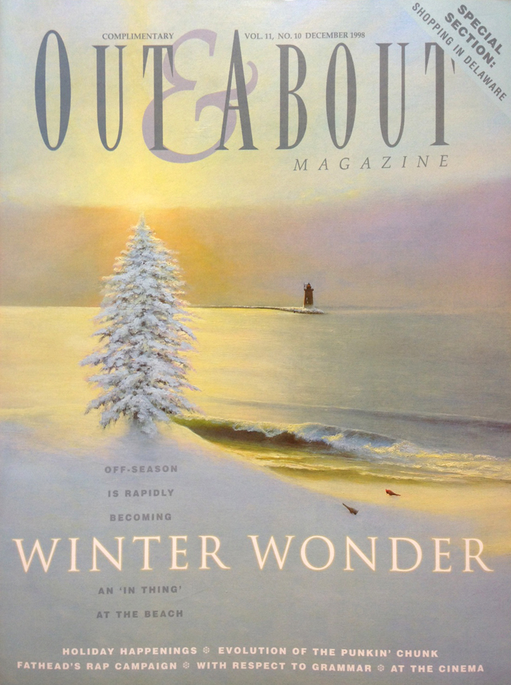 "Cover art ""Winter at the Beach"""