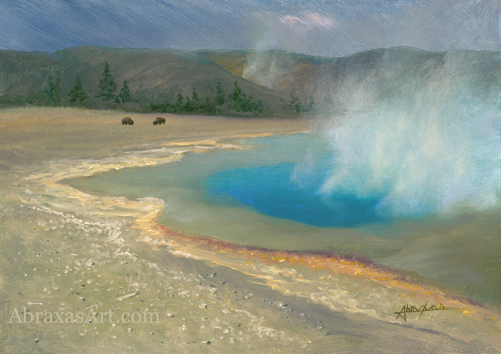 Yellowstone Blue