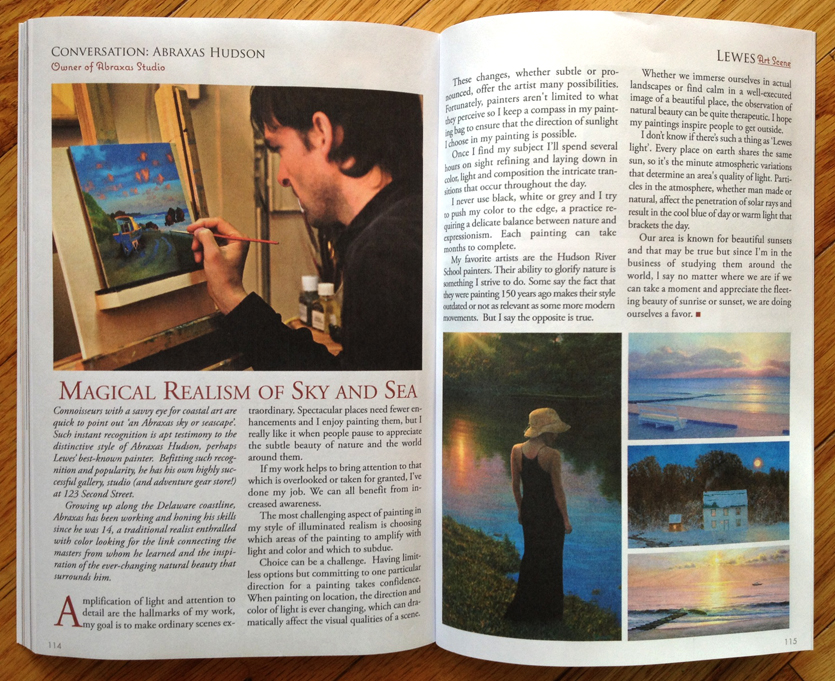 "Featured in the new book ""Living Lewes"""