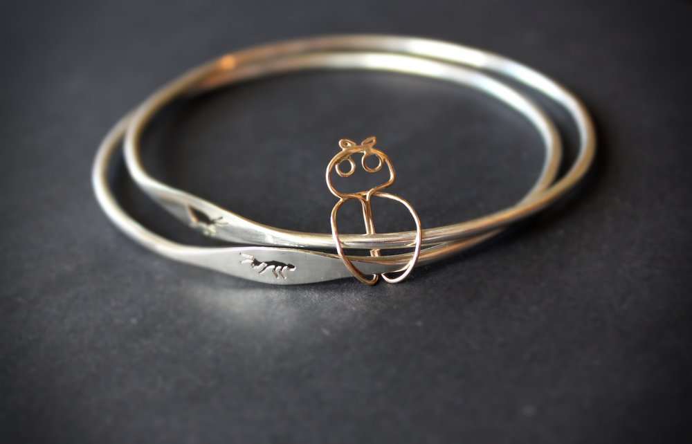 kingdom of God jewellery silver gold bangles