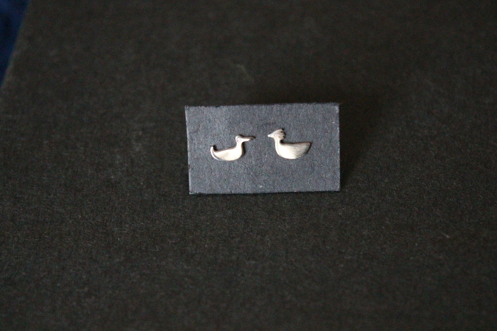 Chick n Duck - silver studs 2013.JPG