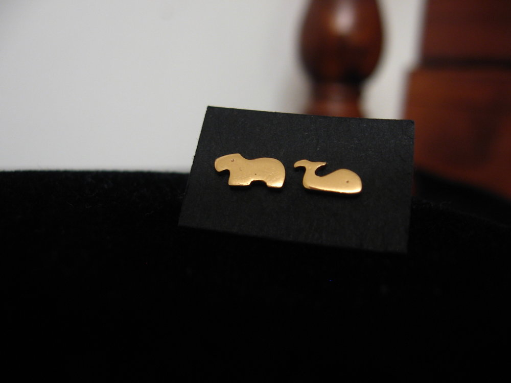 Whale & Fat Animal - gilding metal studs 2012.JPG