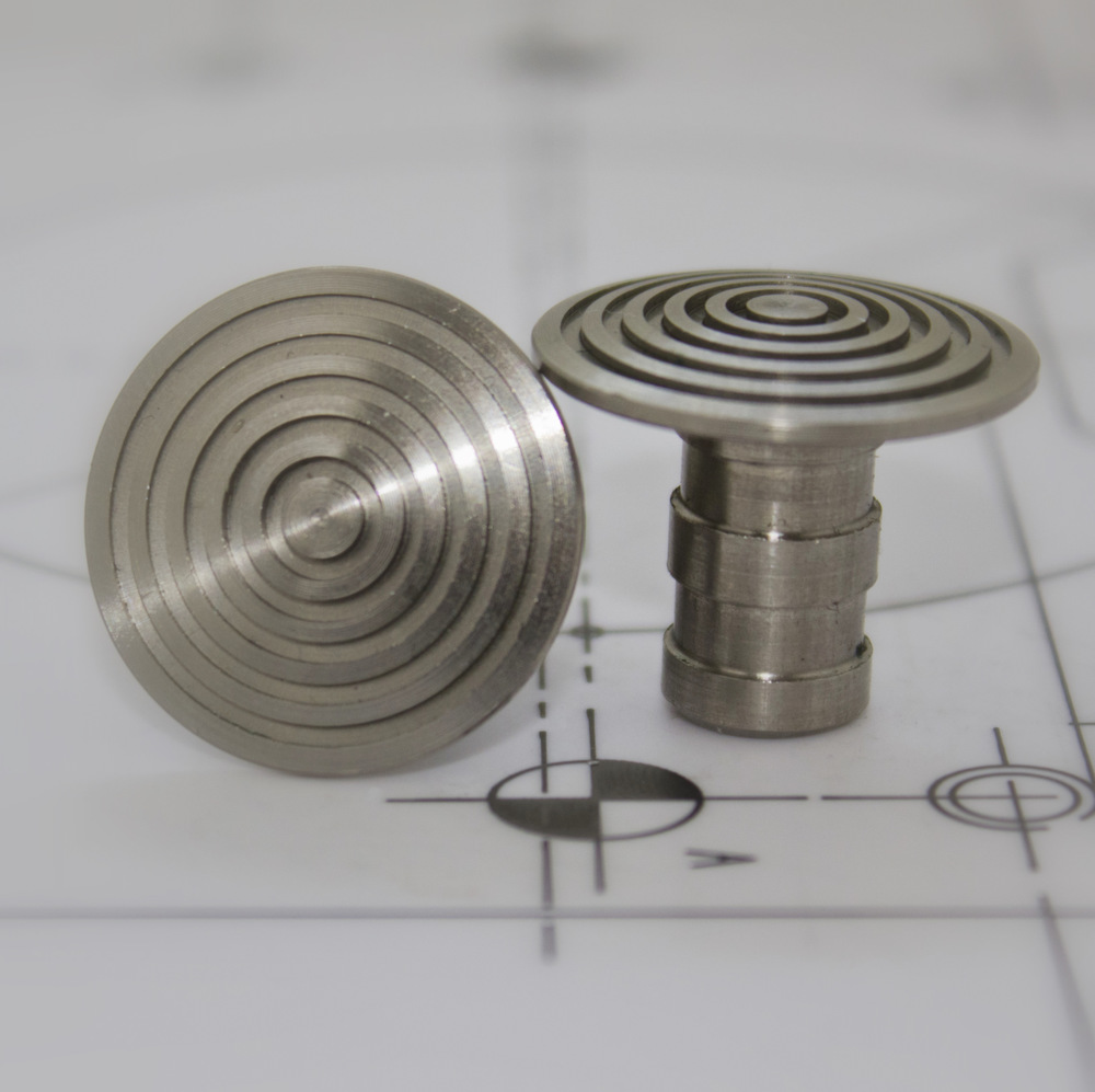 Stainless Steel 25mm Low Dome LD253-AS
