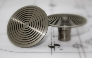 Stainless Steel 50mm Low Domed Stud LD504-AS