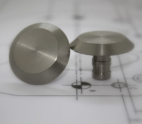 Stainless Steel 35mm Plain Stud