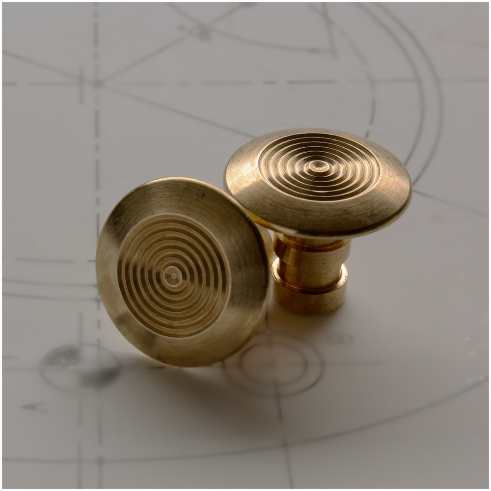 Brass Low Profile Stud LP253-CVB