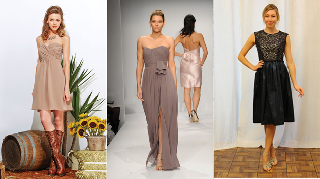 Jasmine, Watters and Lauren Gabrielson Bridesmaid Dresses that appeared on TheKnot.com Trend Report and Yahoo Shine