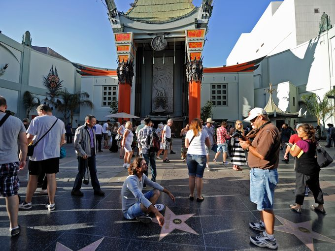 Chinese Theatre and Hollywood Walk of Fame
