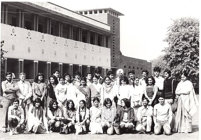 Maggie in Hindu College 1981.jpg