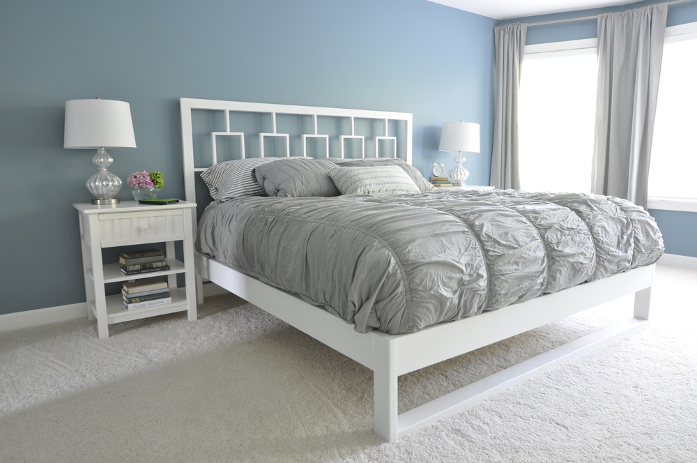 Pallet Bed Frame With Lights Twin