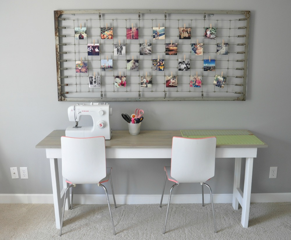Instagram Display, Sewing Table, Painted Thrift Store Chairs.jpg