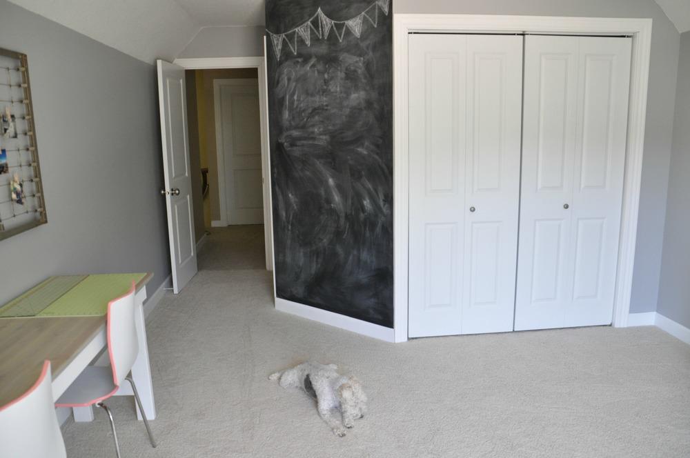 Craft Room Chalkboard Wall.jpg