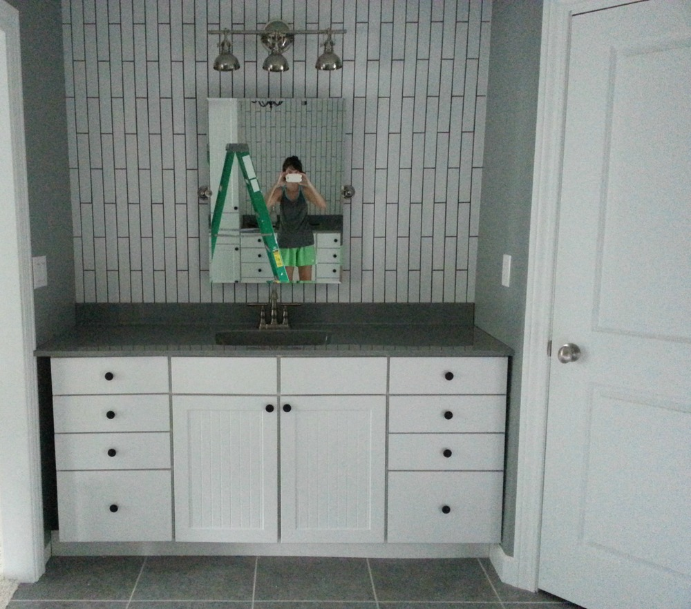 how to change cabinet hardware decor and the dog. Black Bedroom Furniture Sets. Home Design Ideas