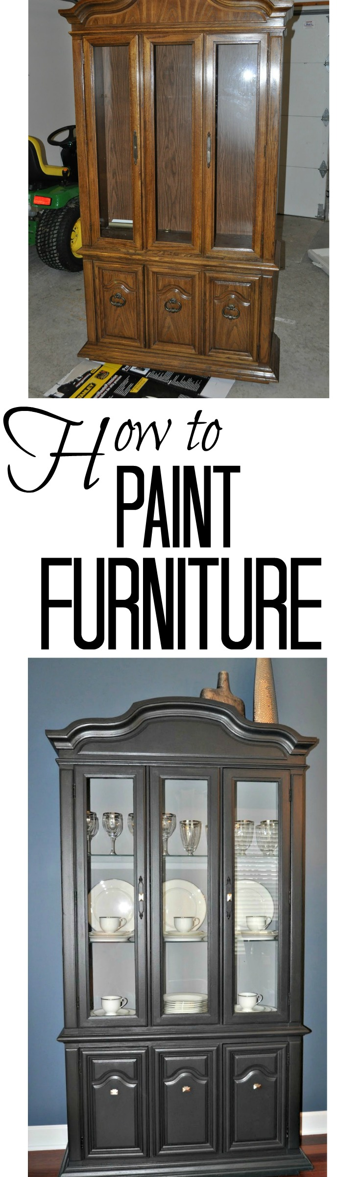 How to Paint Furniture | Decor and the Dog