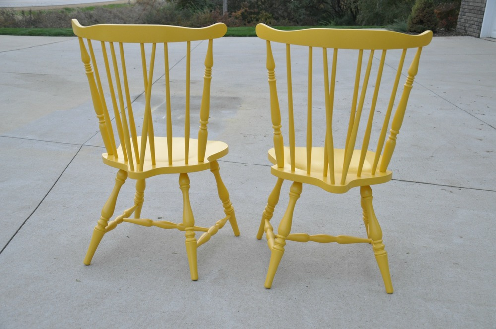 how to paint chairs the easy way decor and the dog