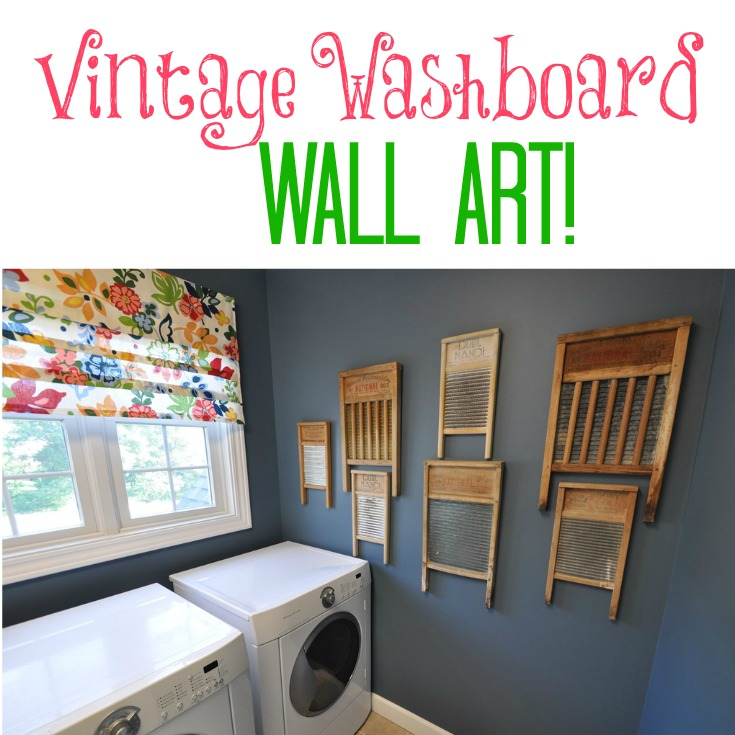 Vintage Washboard Collection Decor And The Dog