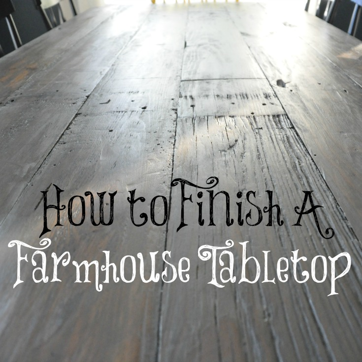 How To Finish A Farmhouse Tabletop Decor And The Dog