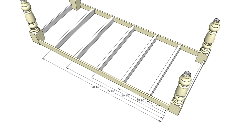 Dinning Room Table Support Dimensions