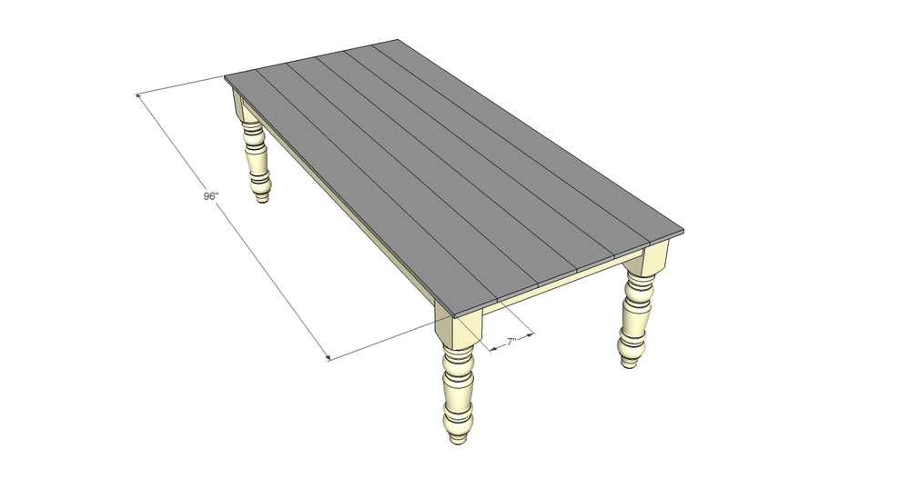 Free Farmhouse Dining Table Plans Decor and the Dog : DinningRoomTableTop from decorandthedog.net size 1000 x 526 jpeg 66kB