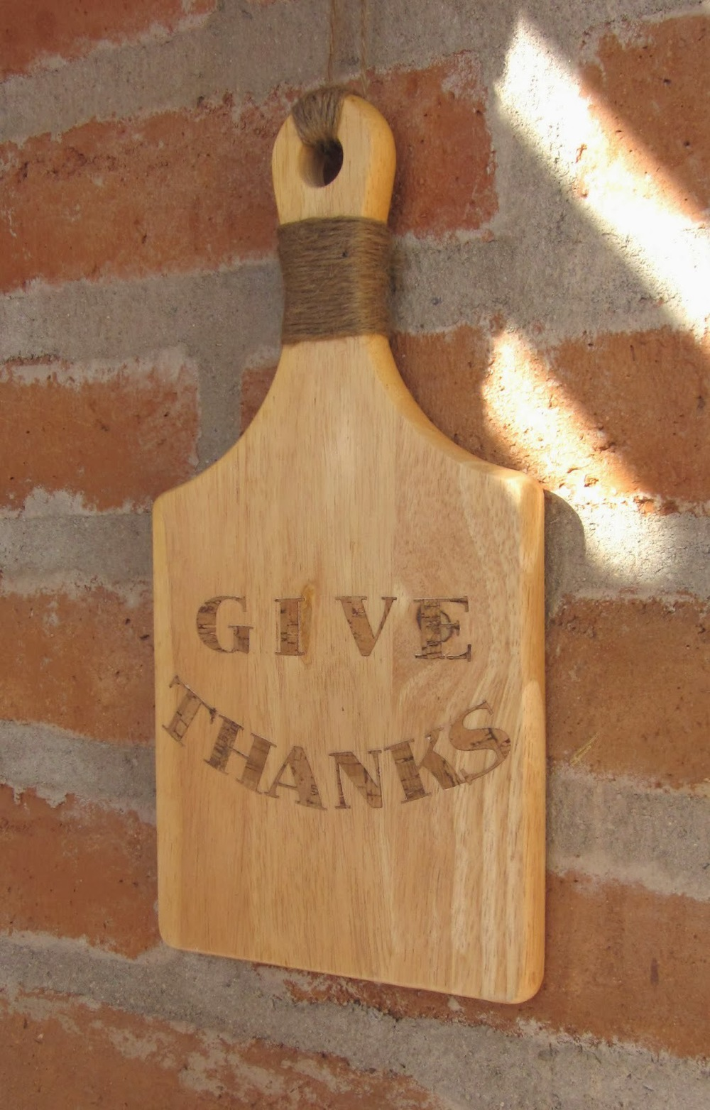 Give Thanks Sign from At Least I Will