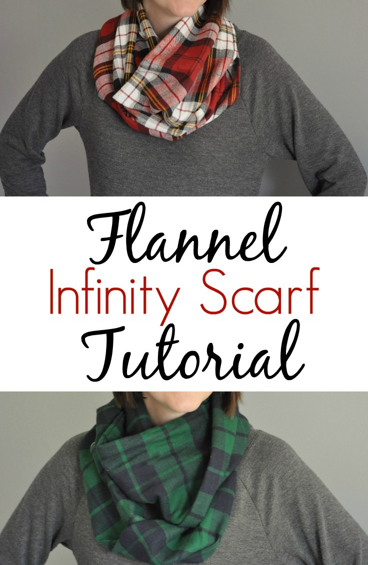 How To Make An Infinity Scarf With A T Shirt