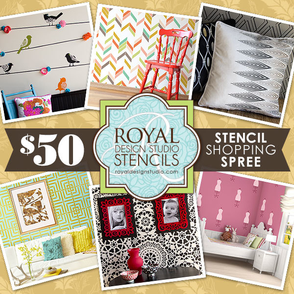 $50 Royal Design Studio Shopping Spree
