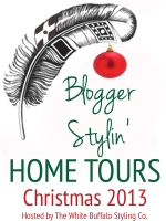 Blogger Stylin' Home Tours Christmas 2013