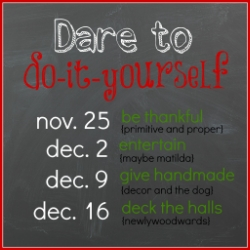 Dare to do-it-yourself 2013