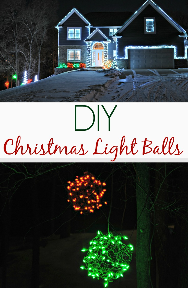 lighted christmas balls outdoor lights 2013 decor and the dog