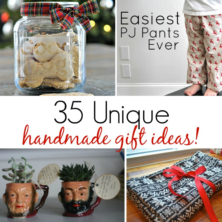 35 Unique Handmade Gift Ideas!