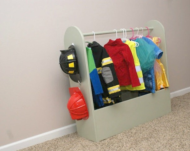 Sibling Dress Up Storage