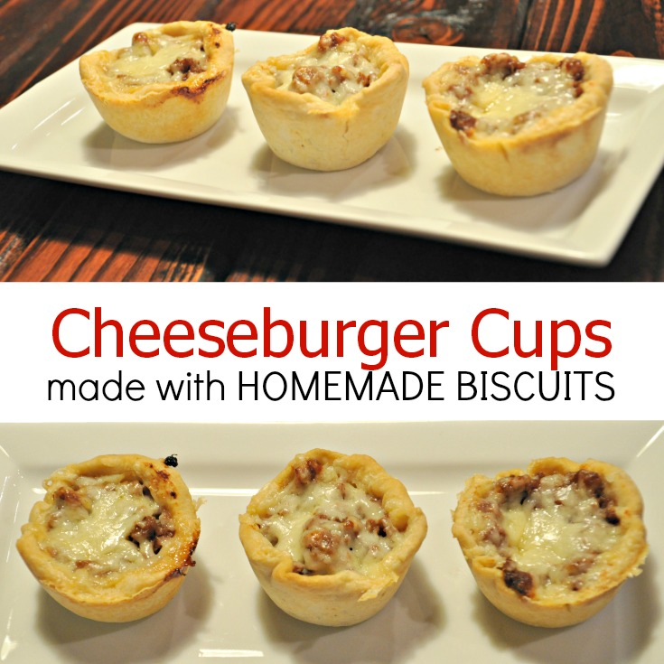 Cheeseburger Cups {Decor and the Dog}