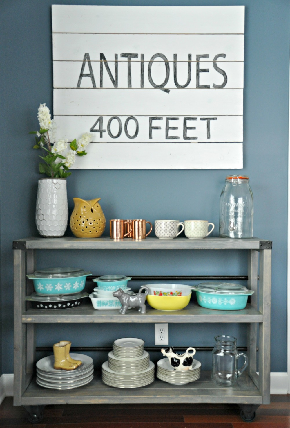 Vintage Sign Tutorial {Decor and the Dog}
