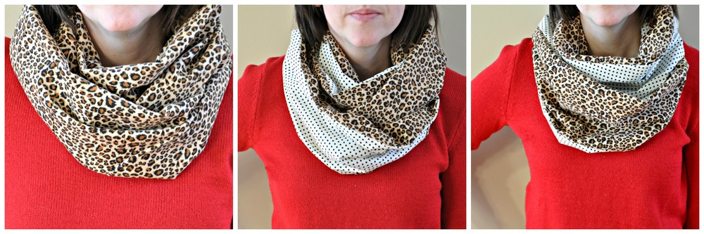 Two Sided Infinity Scarf Tutorial — Decor and the Dog