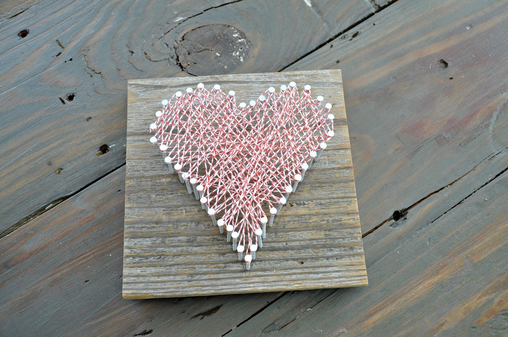 DIY String Art + Craft Night | Decor and the Dog