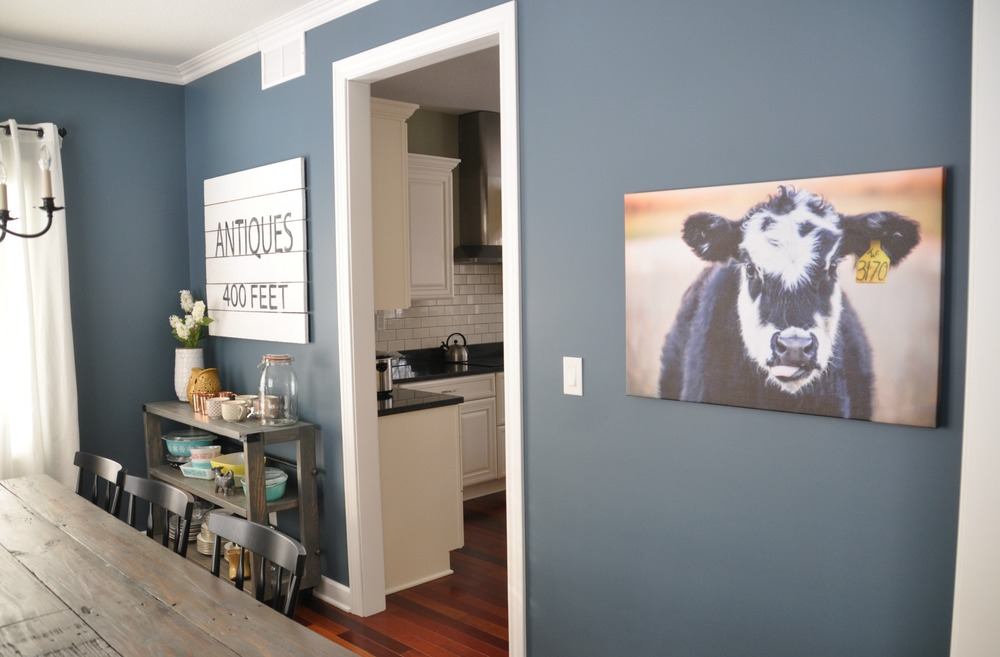 Cow Art | Decor and the Dog