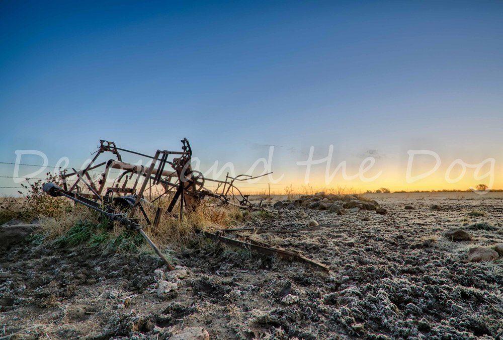 Sample Old Farm Equipment