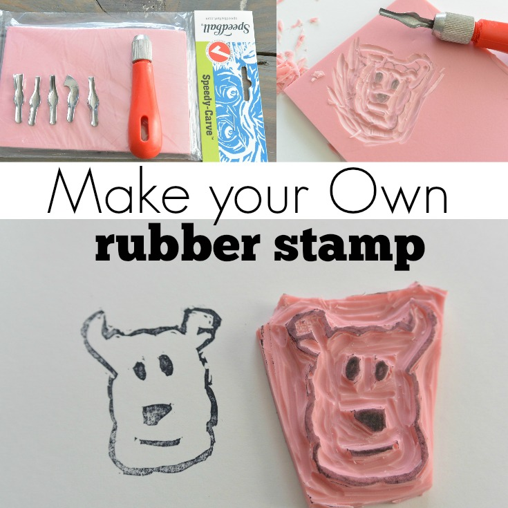 Make Your Own Stamp DIY Tutorial Decor and the Dog