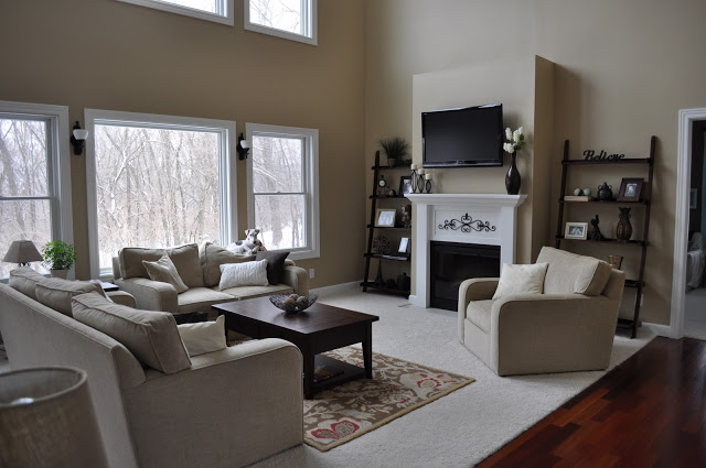 Then and Now Living Room | Decor and the Dog