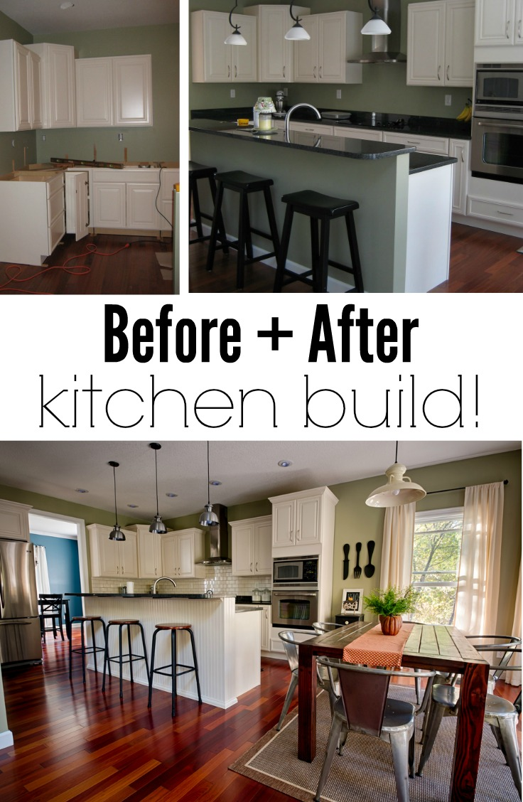 Before + After Kitchen Build | Decor and the Dog