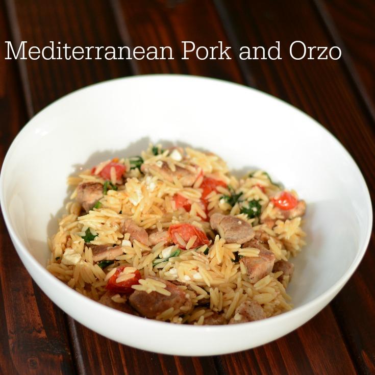 Mediterranean Pork And Orzo Recipe