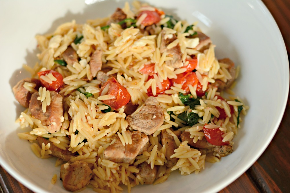 Pork and Orzo