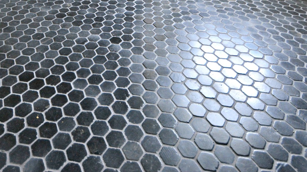 Noir Hex Tile from the Tile Shop