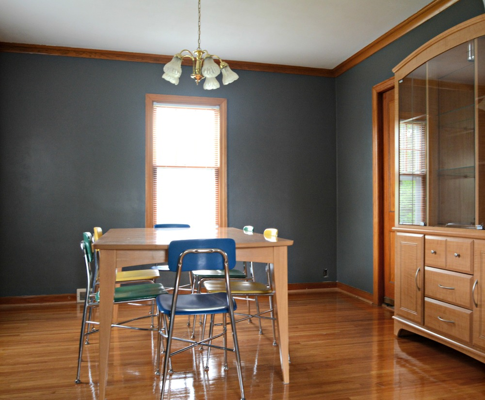 How To Paint Over Stripes With Different Finishes Decor And The Dog