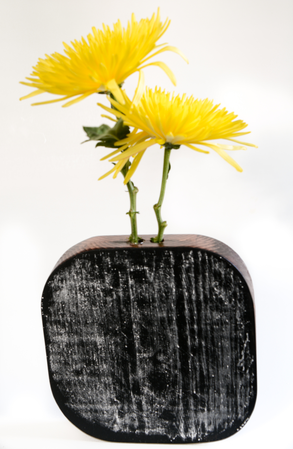 DIY Wood Chalkboard Vase