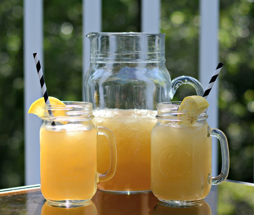 Whiskey Slush.  A great Summer drink.