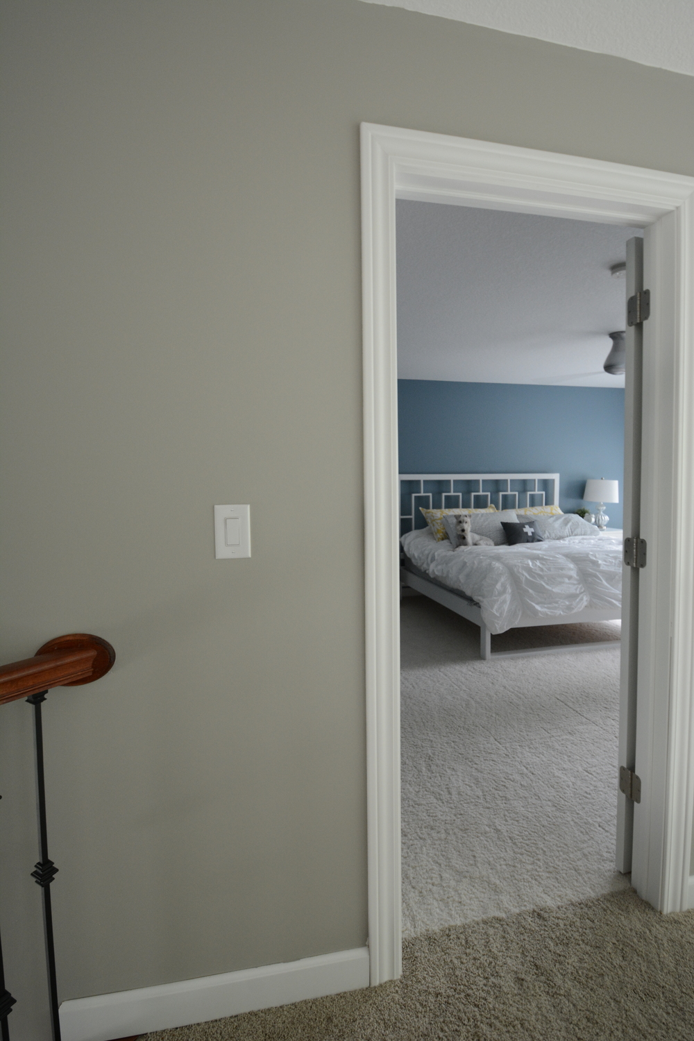Bedroom Decor Grey Walls